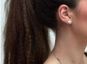 Причёска кудри