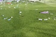 Уборка территории после концерта