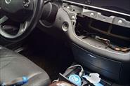 Mercedes W221 ремонт климата.
