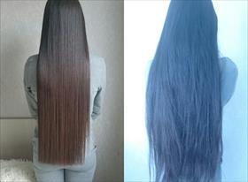 Био-протеиновое выпрямление волос