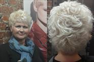 Стрижка женская окрашивание в блонд