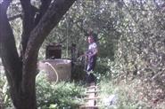 Чистка колодца в загородном доме.