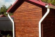 Дом из бруса, хозблок, дровник