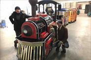 Детский паровозик / реставрация