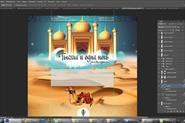Процесс разработки дизайна сайта.