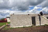 Демонтаж односкатной крыши во Владимирской области