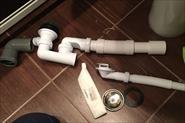Замена сифонов, гофр, различных соединений к канализации