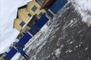 Уборка территории от снега.