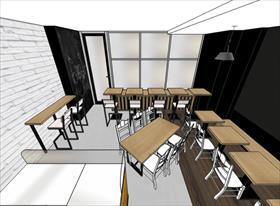 Кафе Оскар на Рязанке. От проекта до реализации.