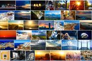 пейзажи и тревел с фотосайта для представления о стиле съемки и уровней обработки