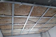 Шумоизоляция потолка и обшивка ГКЛ 150м2