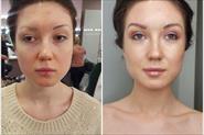 Сияющий  макияж