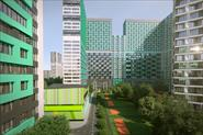 Архитектурная визуализация жилого комплекса (конкурсная работа)