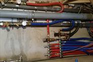 Разводка водоснабжения в квартире трубами рехау . Цены