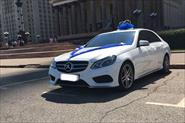Mercedes E Klass белый
