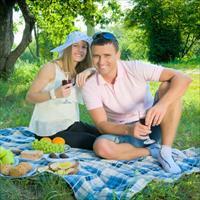 Фотосессия на пикнике