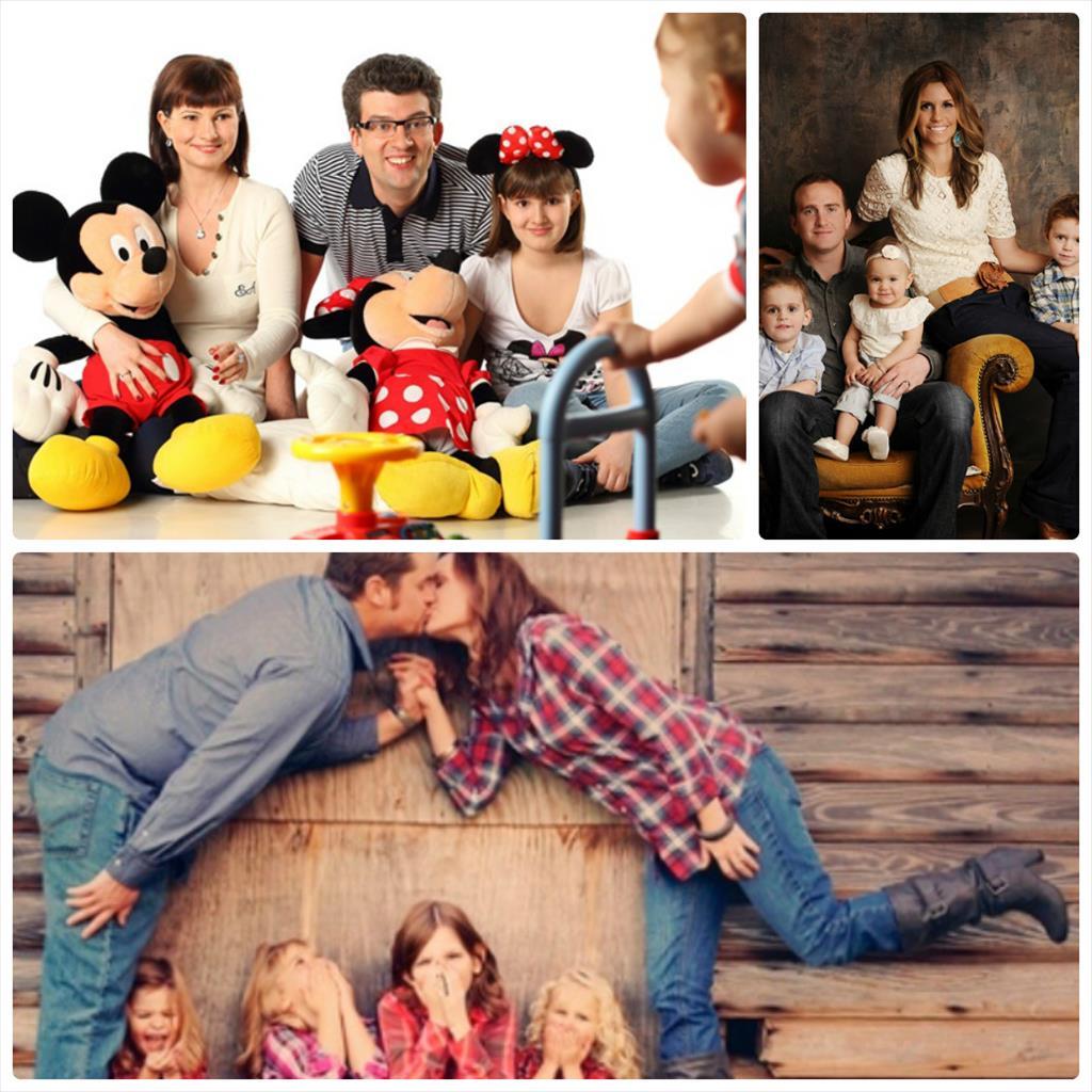 семейные фотосессии идеи в студии фото