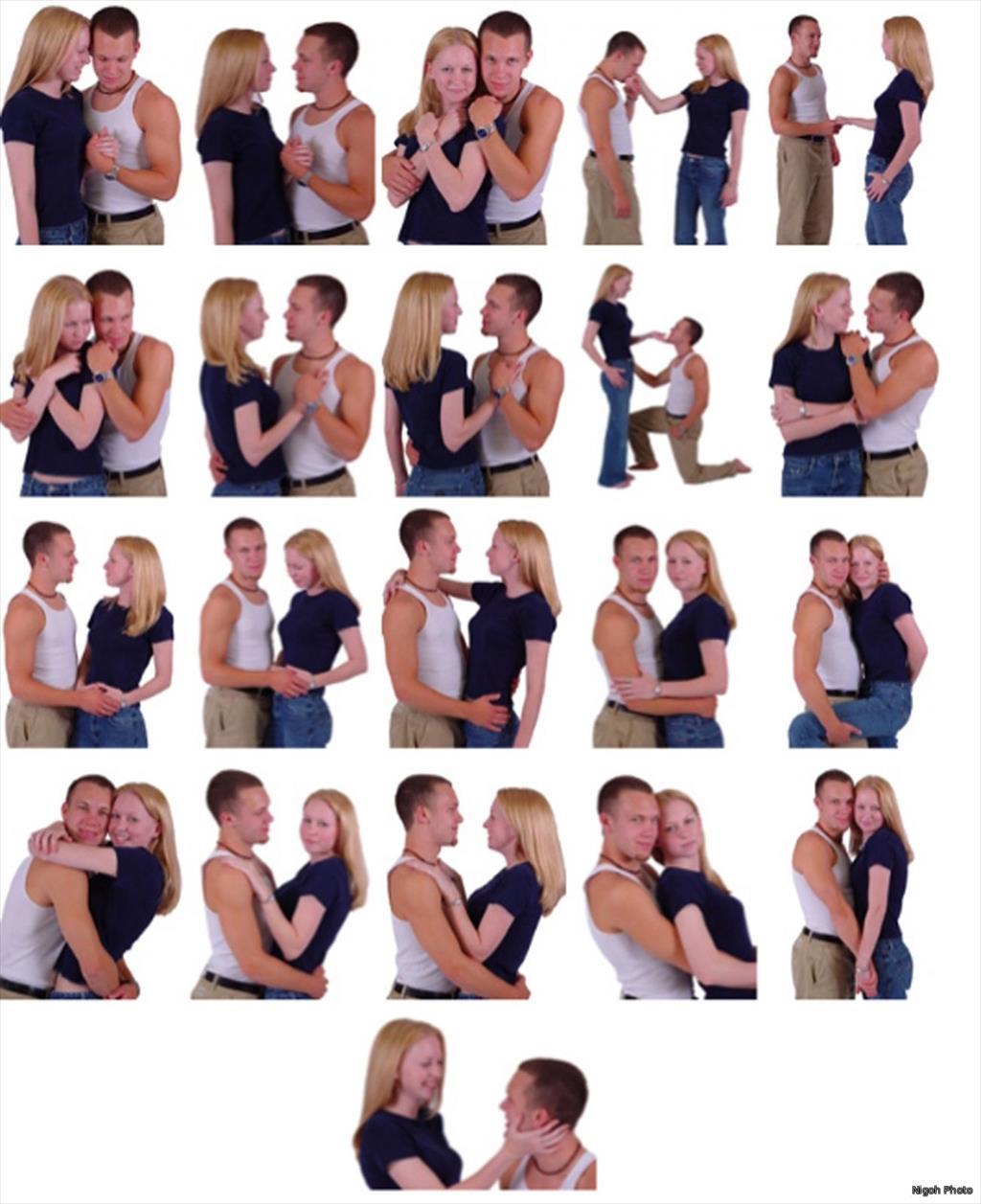 позы для фотосессии с парнем