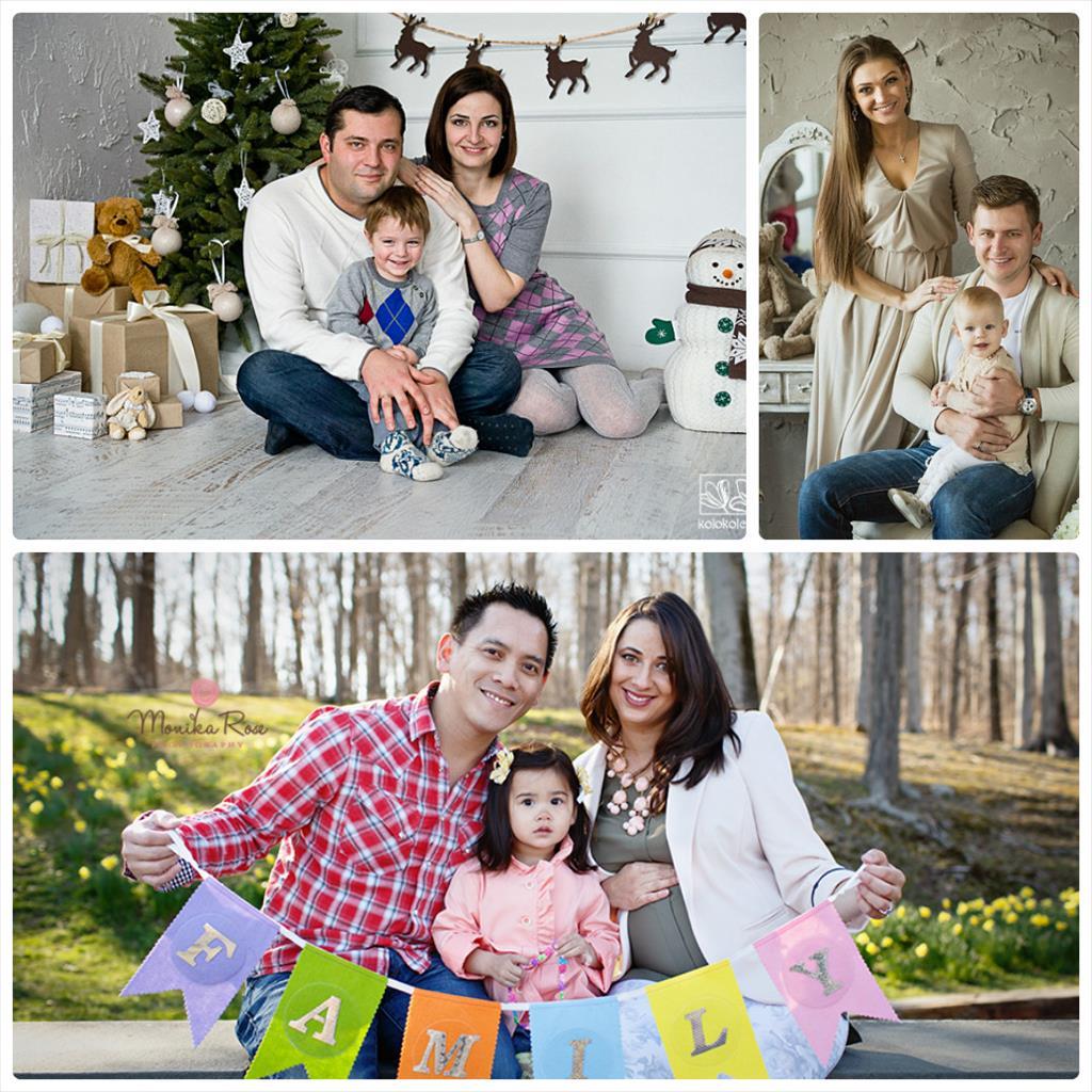 фото семейная фотосессия