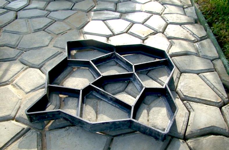 Как сделать тротуарную плитку в домашних условиях - несколько вариантов