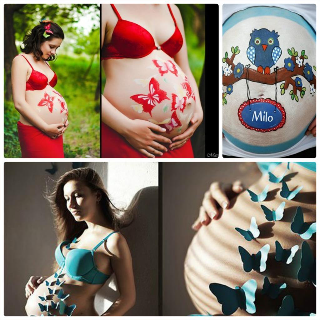 фотосессия беременных дома идеи для фото