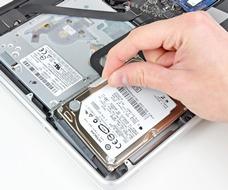 Заменить жесткий диск в Macbook Pro