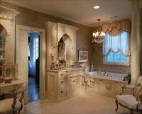 Выбор дизайна классической ванной комнаты