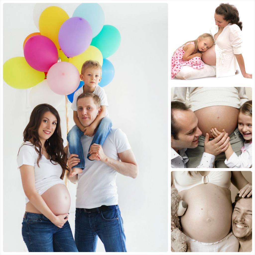 фотосессия беременных фото в студии