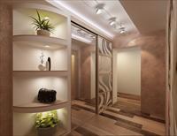 Выбор дизайна гостиной, совмещенной с коридором