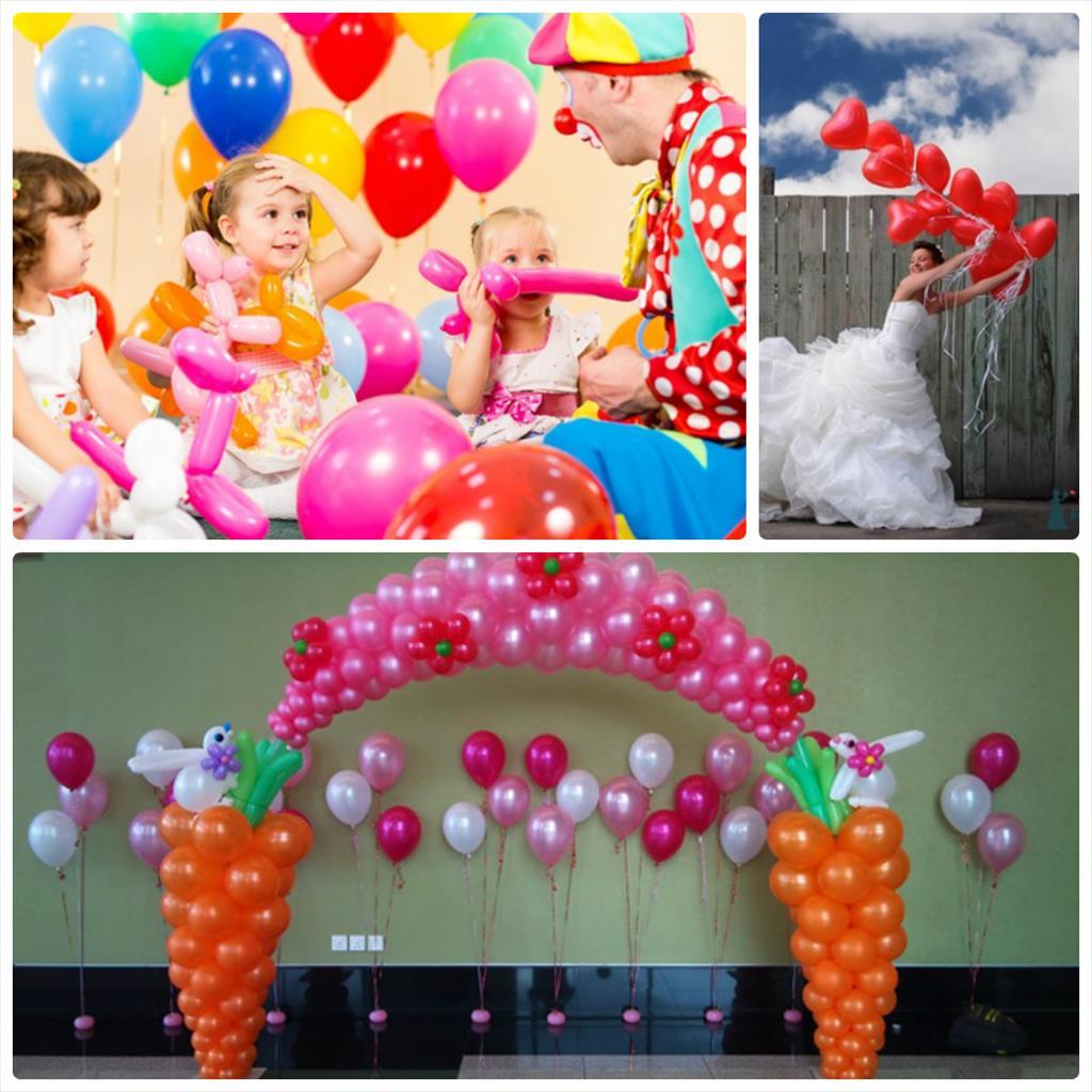 фотосессия с шарами воздушными