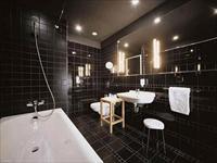 Выбор интерьера ванной комнаты темного цвета